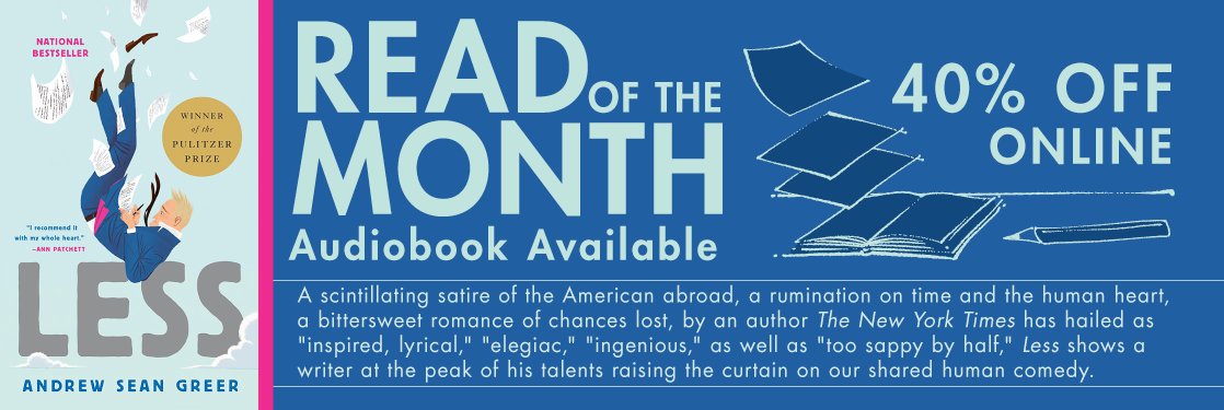 Less by Andrew Sean Greer Read of the month