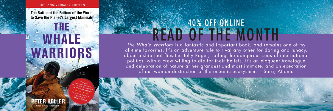 The Whale Warriors Peter Heller Read of the Month